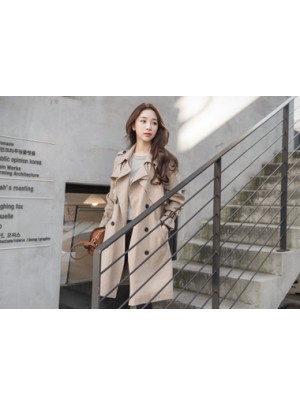 Asia Trench Coat (Beige)