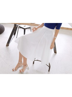 Nia Flare Midi Skirt