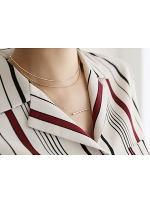 Triple Stick Necklace