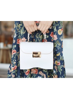 Wave Mini Gold Bag