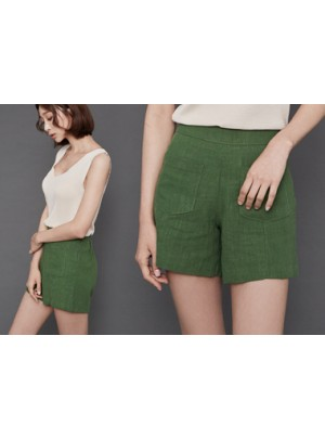Maggie Linen Shorts
