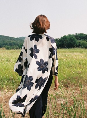 Micaele Flower Robe
