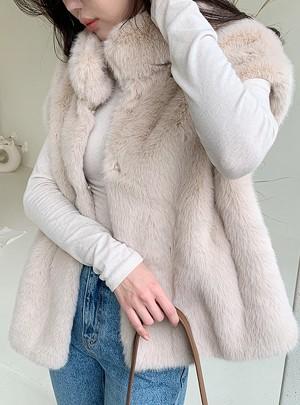 ZainaSoft Fur Vest