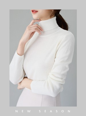 Florine Turtle Neck Knit
