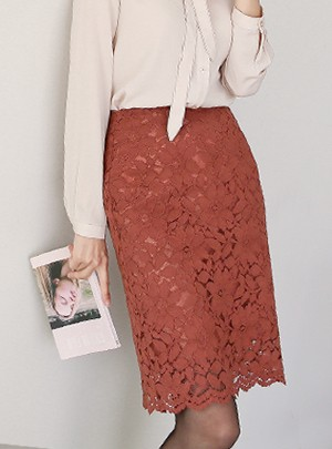 Heaven Lace Skirt