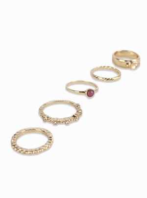 Cassey Ring Set