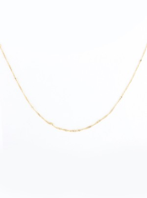 Simple Ball Gold Necklace