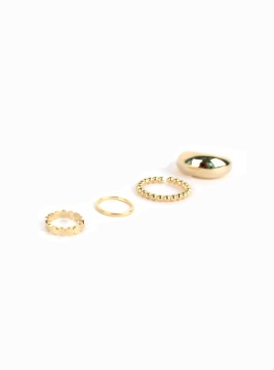4-Piece Ring Set
