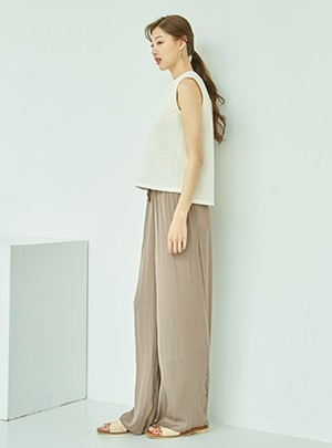 Violette Silky Banding Pants