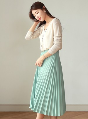 Maira Pleats Skirt