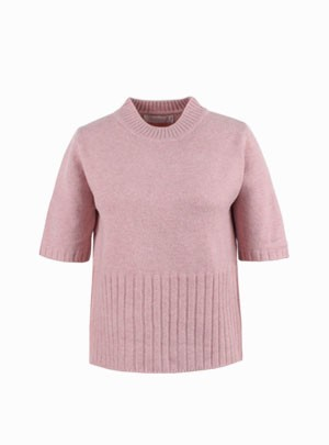 Mild short-sleeved Knit