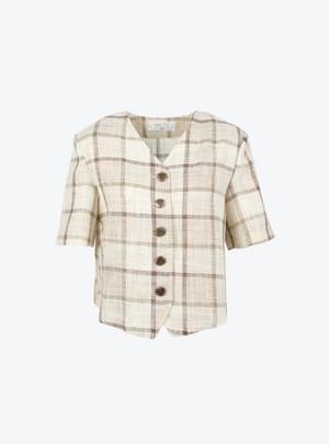 Milena Check Jacket