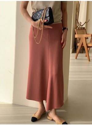 Asymmetrical Silky Skirt