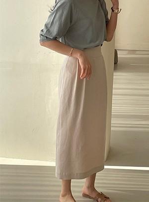 Virginia Linen Skirt