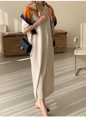 Chelsea V-Neck Dress