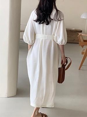 Deanna Linen Dress