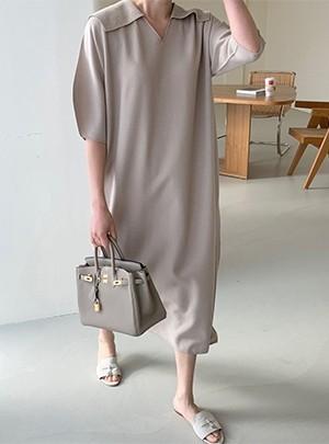 Sara Collar Knit Dress