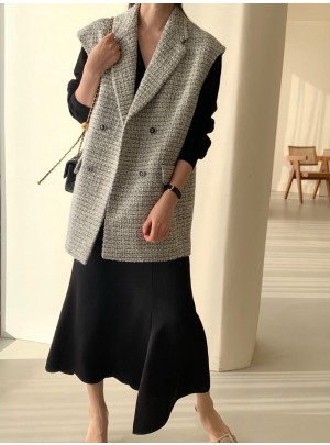 Charlene Tweed Vest