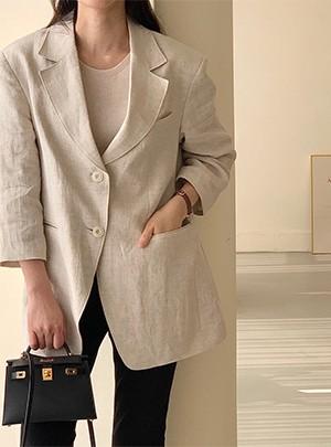 Jani Linen Jacket