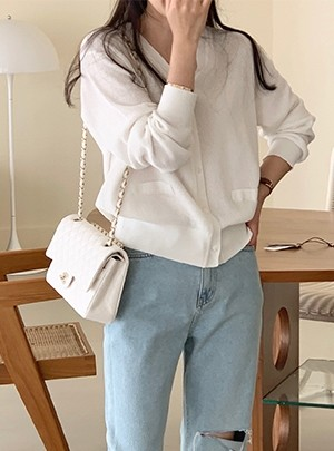 Cotton Pure Cardigan