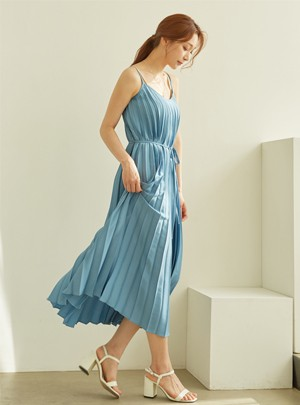 Rachal Pleats Dress