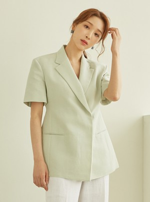 Story Short-sleeve Jacket(Mint)