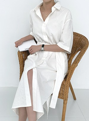 Eunice Linen Dress