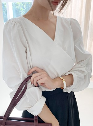 Sofia Wrap Blouse