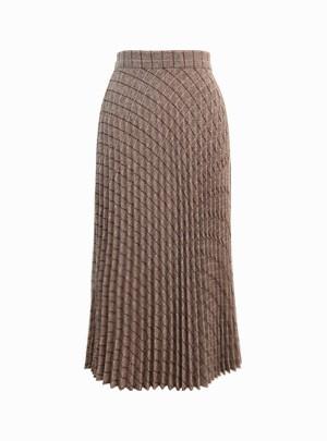 Hollyn Banding Pleated Skirt