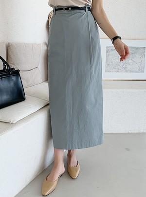 Devin H-Line Long Skirt