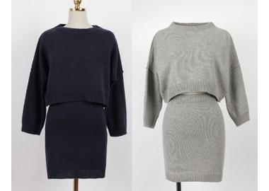 Natasha Top-Skirt Set