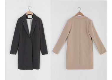 Chic Long Jacket (Grey)