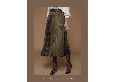 Rae Pleated Skirt