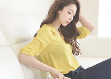 Cretchen Blouse (Yellow)