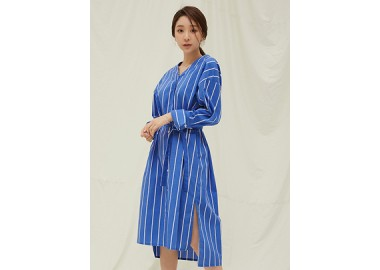 Maisy Stripe Long Shirt