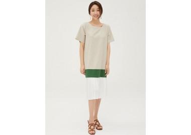 Reena Pleats Dress