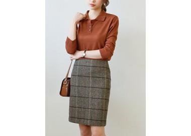 Classic Check Skirt