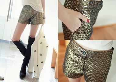 Unique Glossy Shorts