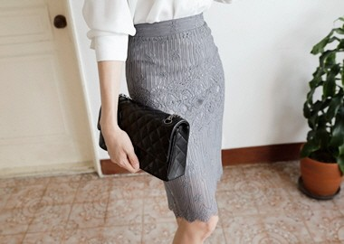 Versailles Lace Skirt