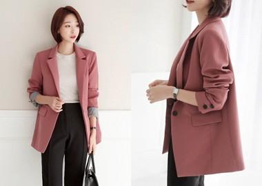 Vivian Sleeve Color Combination Jacket