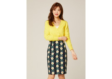 Pansy Flower Skirt