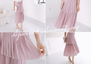 Kaitlin Pleats Skirt