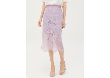 Fion Lace Skirt (Light Purple)