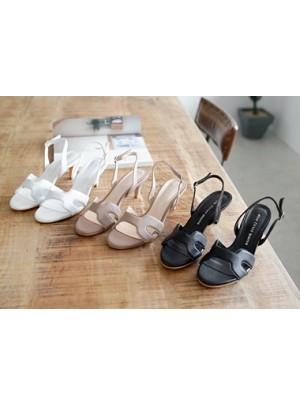 H-Line Middle Heel Sandals