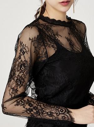 Gracia Lace Blouse Set