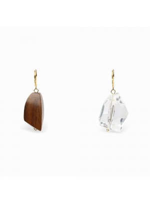 Iona Wood Earrings