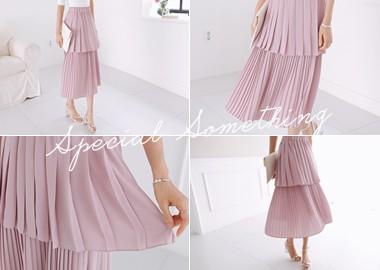 Kaitlin Pleats Skirt