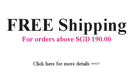 Free Shipping Above SGD190