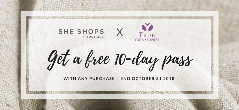SheShops X True Yoga